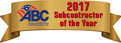 ABC Subcontractor 2017 Award
