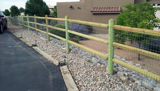 Post Amp Rail Scott S Fencing